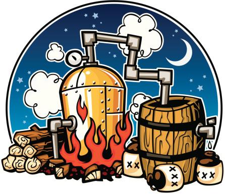 moonshine distillery