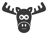 Moose Head Icon