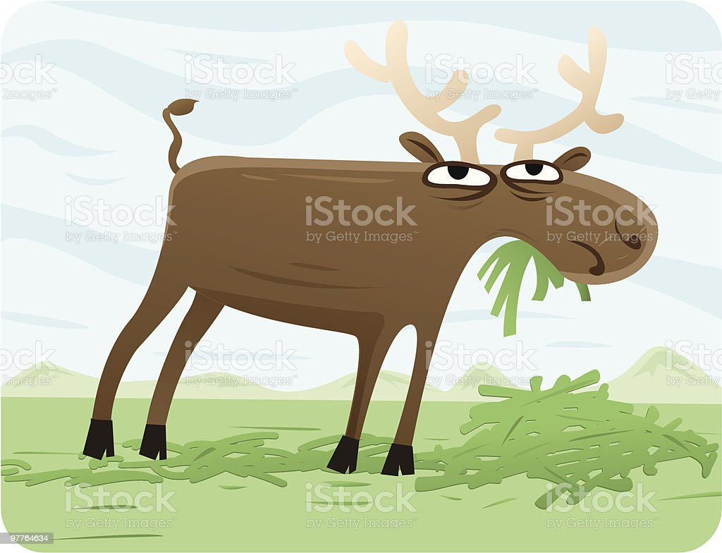 Moose royalty-free moose stock vector art & more images of alaska - us state