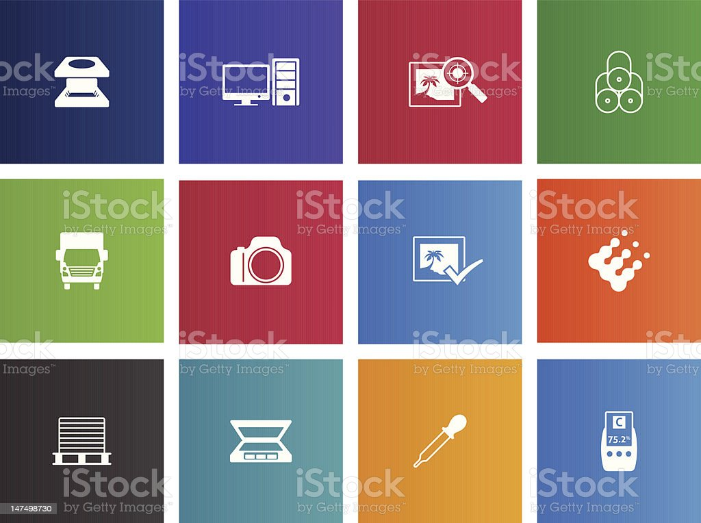 More Printing & Graphic Design Icons royalty-free stock vector art