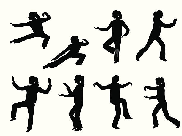 Best Tai Chi Illustrations, Royalty-Free Vector Graphics