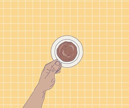 Morning coffee rituals