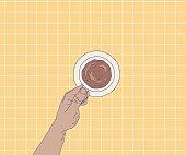 istock Morning coffee rituals 1304798200