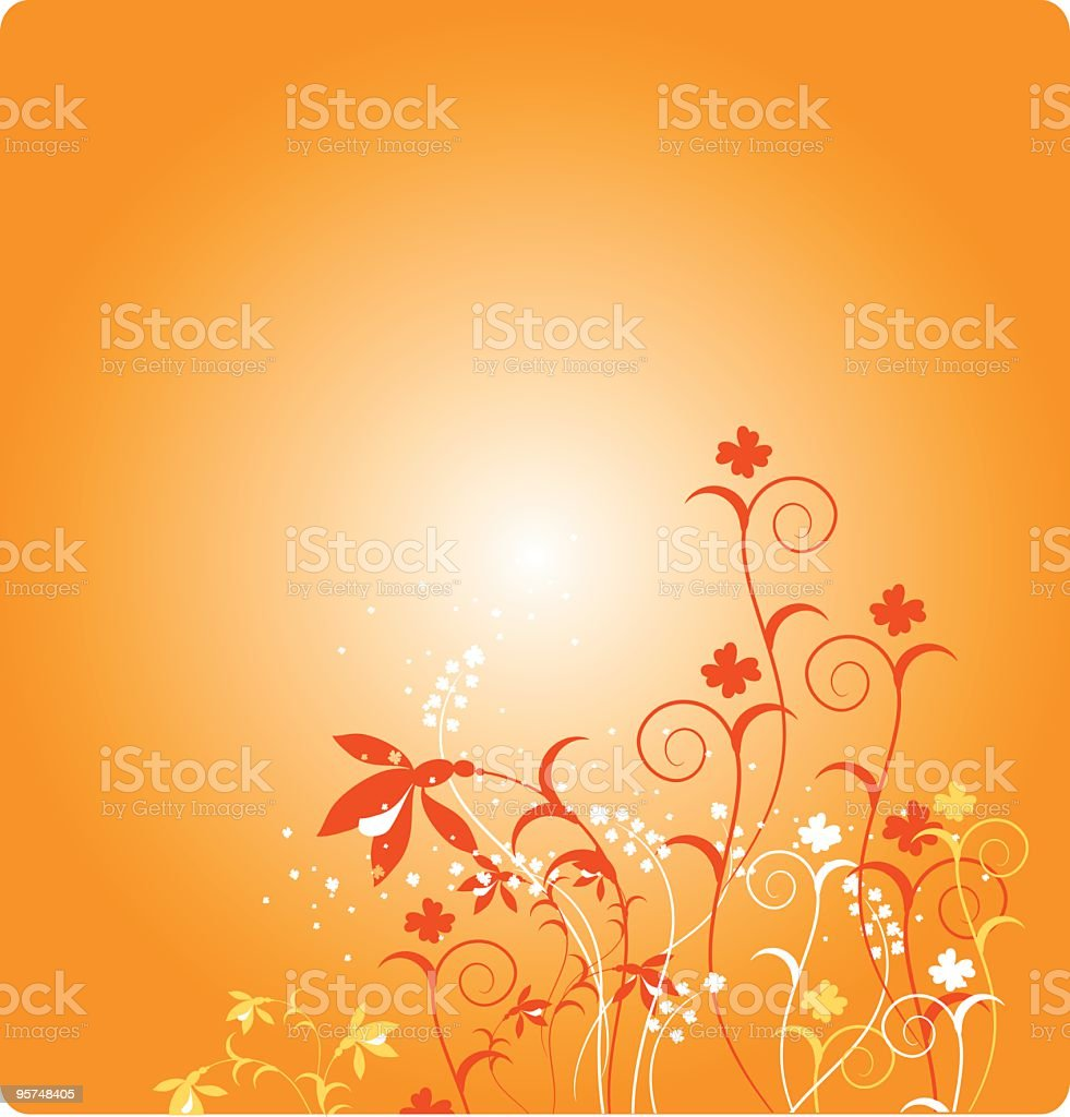 Morning Garden royalty-free stock vector art