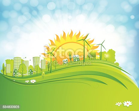 istock Morning in the Green City 534833925