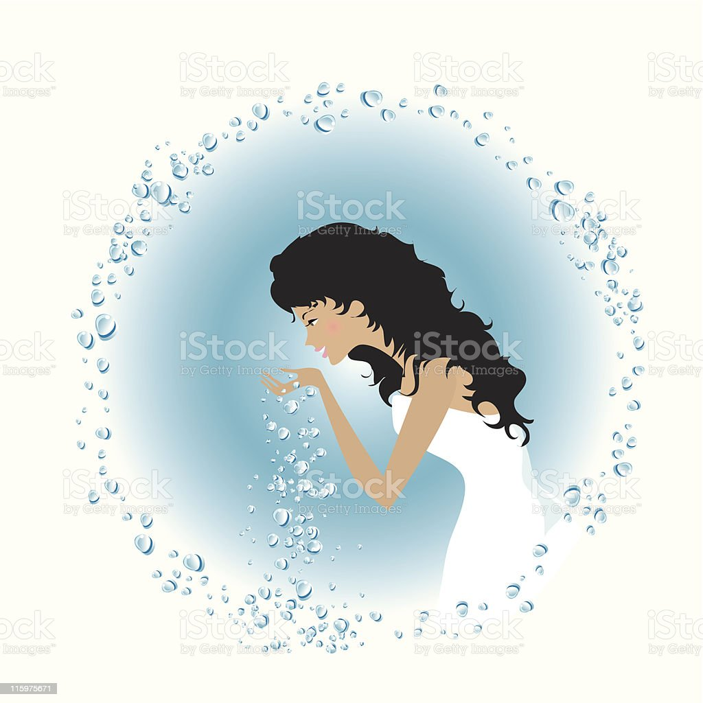Morning wash royalty-free morning wash stock vector art & more images of adult