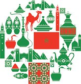 Moroccan Icon Set