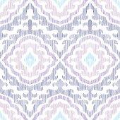 Colorful seamless pattern. Impressive fashion print. Scribble effect.