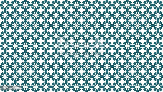 istock Moroccan seamless pattern vector 1071680986