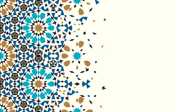 morocco disintegration template. - tile pattern stock illustrations, clip art, cartoons, & icons