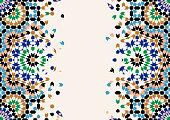 Morocco Disintegration Template.