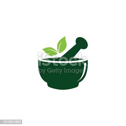 Healthcare and herbal medicine logo