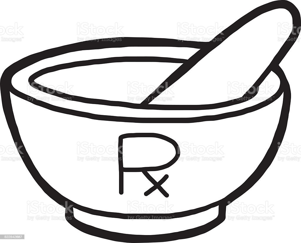 Mortar and pestle with pharmaceutical symbol stock vector art mortar and pestle with pharmaceutical symbol royalty free mortar and pestle with pharmaceutical symbol stock buycottarizona