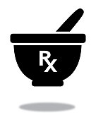 istock RX Mortar And Pestle With Shadow 1324945299