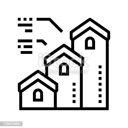 istock mortgage from little to big house line icon vector illustration 1268236657