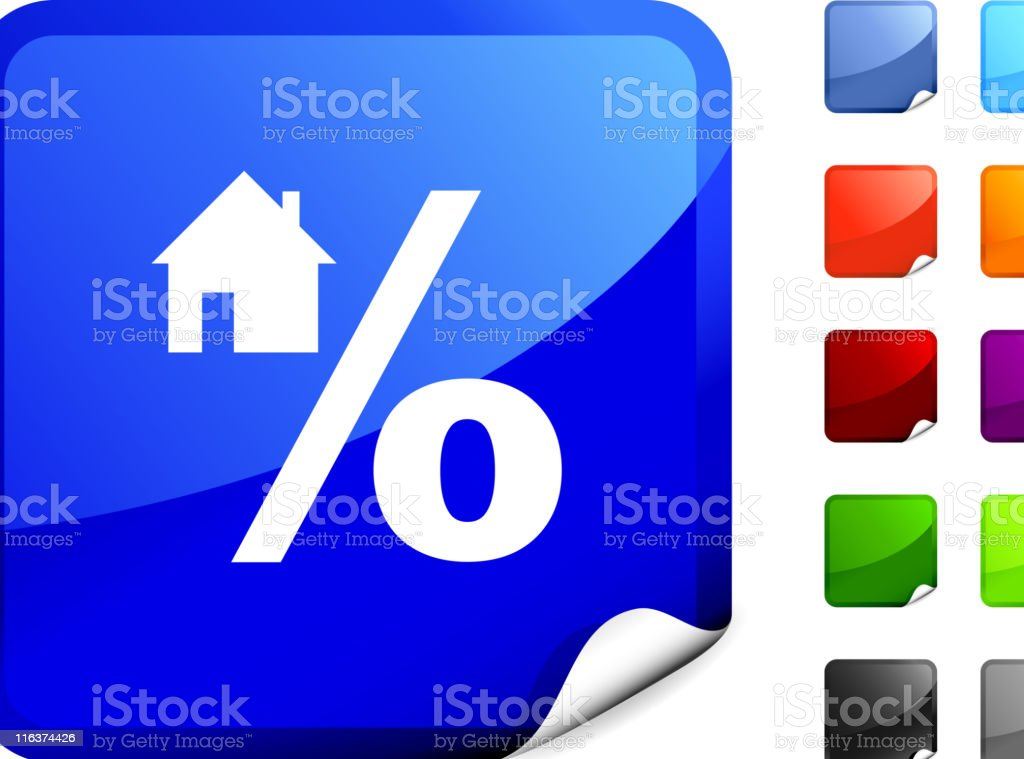 mortgage rate internet royalty free vector art royalty-free stock vector art