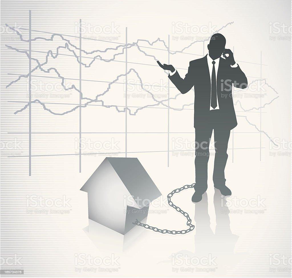 Mortgage royalty-free stock vector art