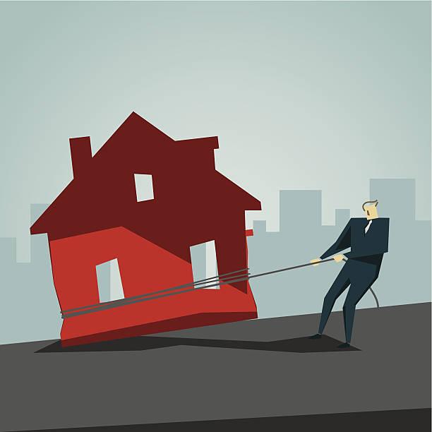 Mortgage vector art illustration