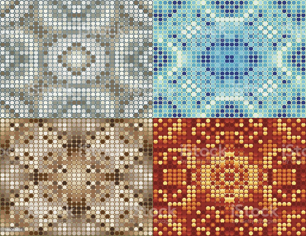 Mosaic Background. royalty-free stock vector art