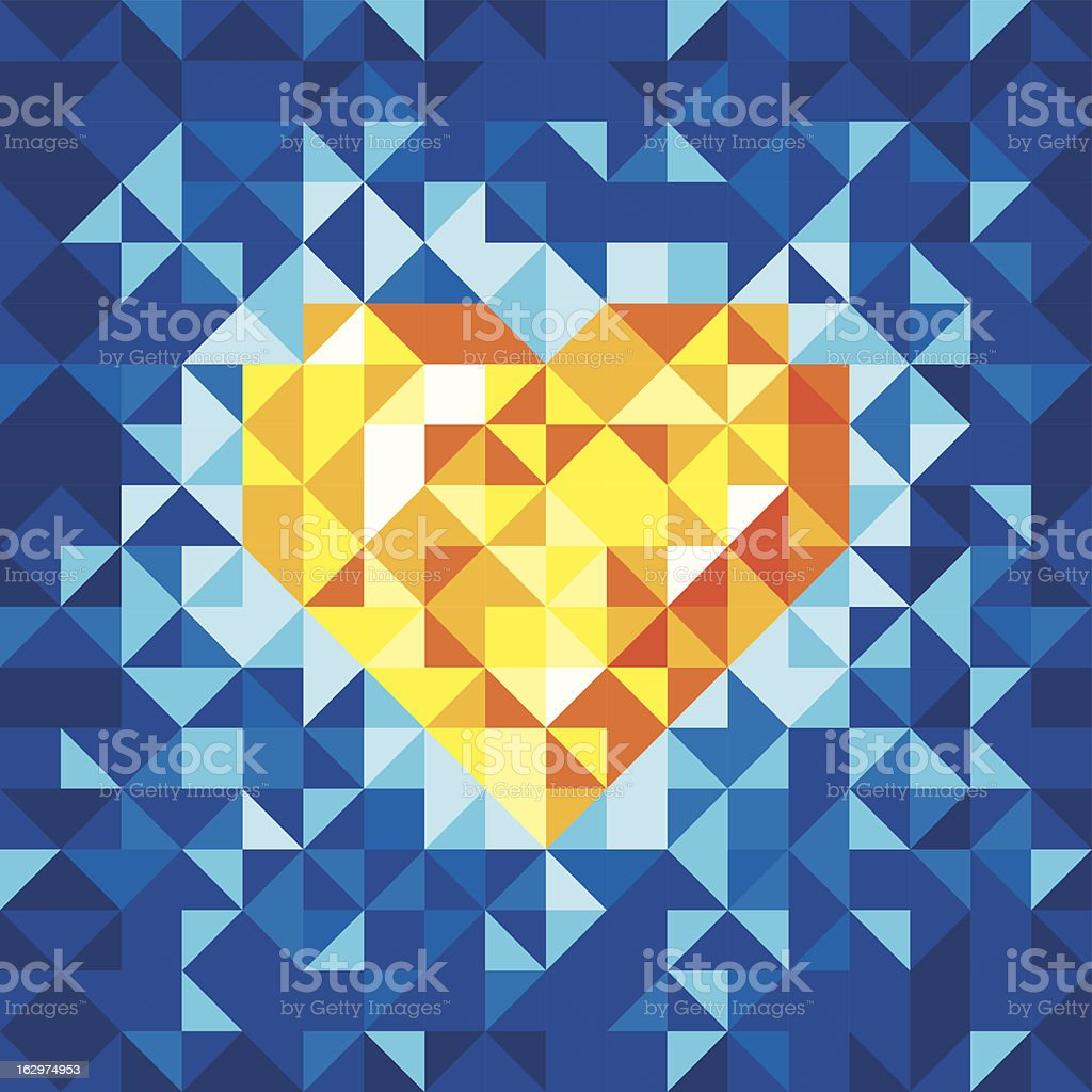 Mosaic Backgrounds royalty-free stock vector art