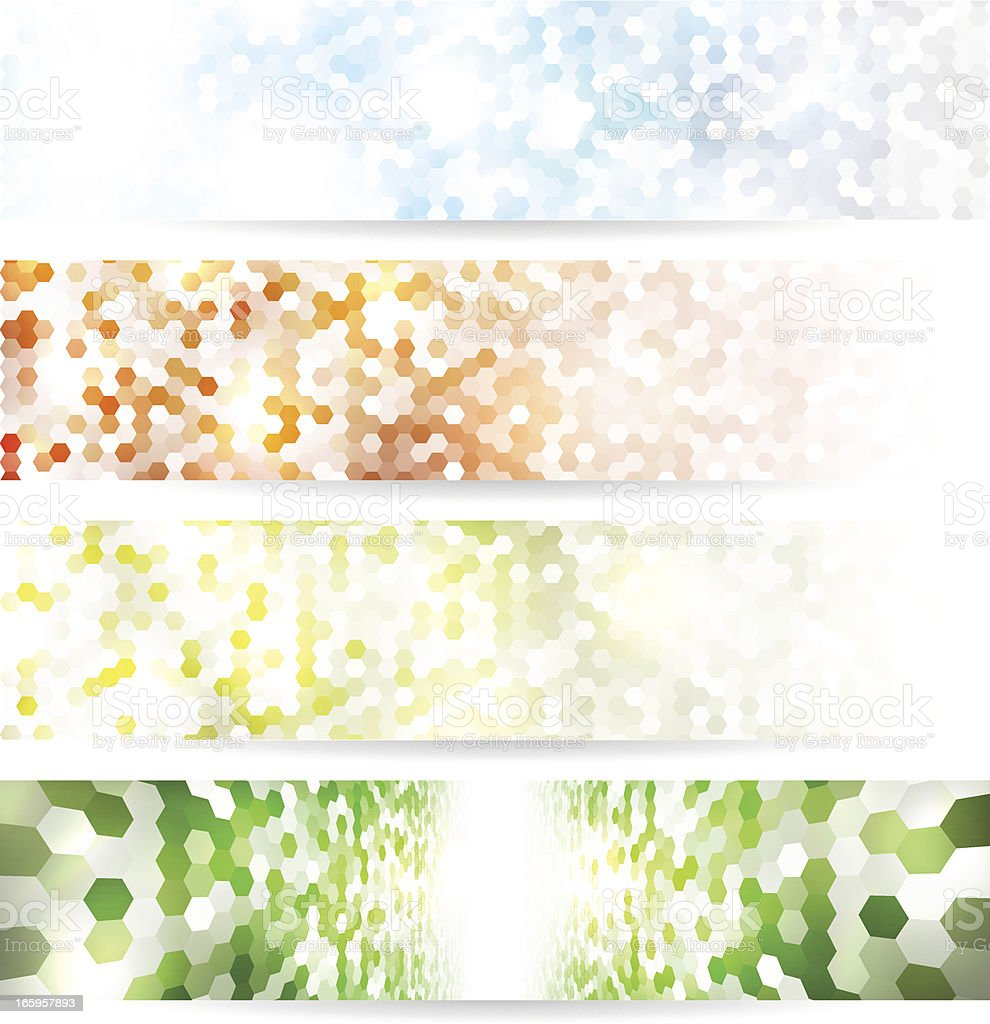 Mosaic banners royalty-free mosaic banners stock vector art & more images of abstract