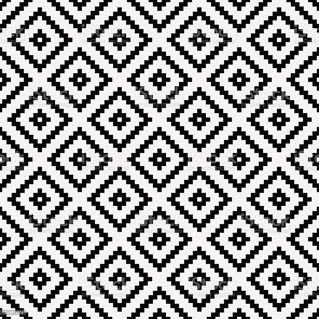 Patrón de mosaico - ilustración de arte vectorial