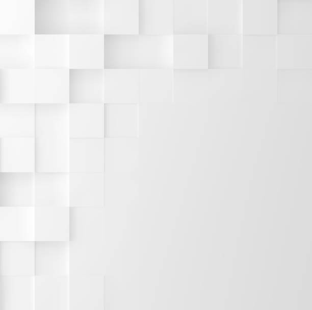 illustrazioni stock, clip art, cartoni animati e icone di tendenza di mosaic square background. abstract geometric minimalistic cover design. vector graphic. - square