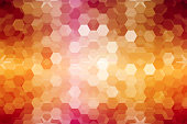 mosaic. stained-glass window. purple orange color. vector illustration. for design, wallpaper, interior