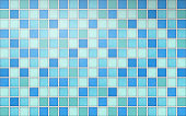 Realistic mosaic tiles in vector format