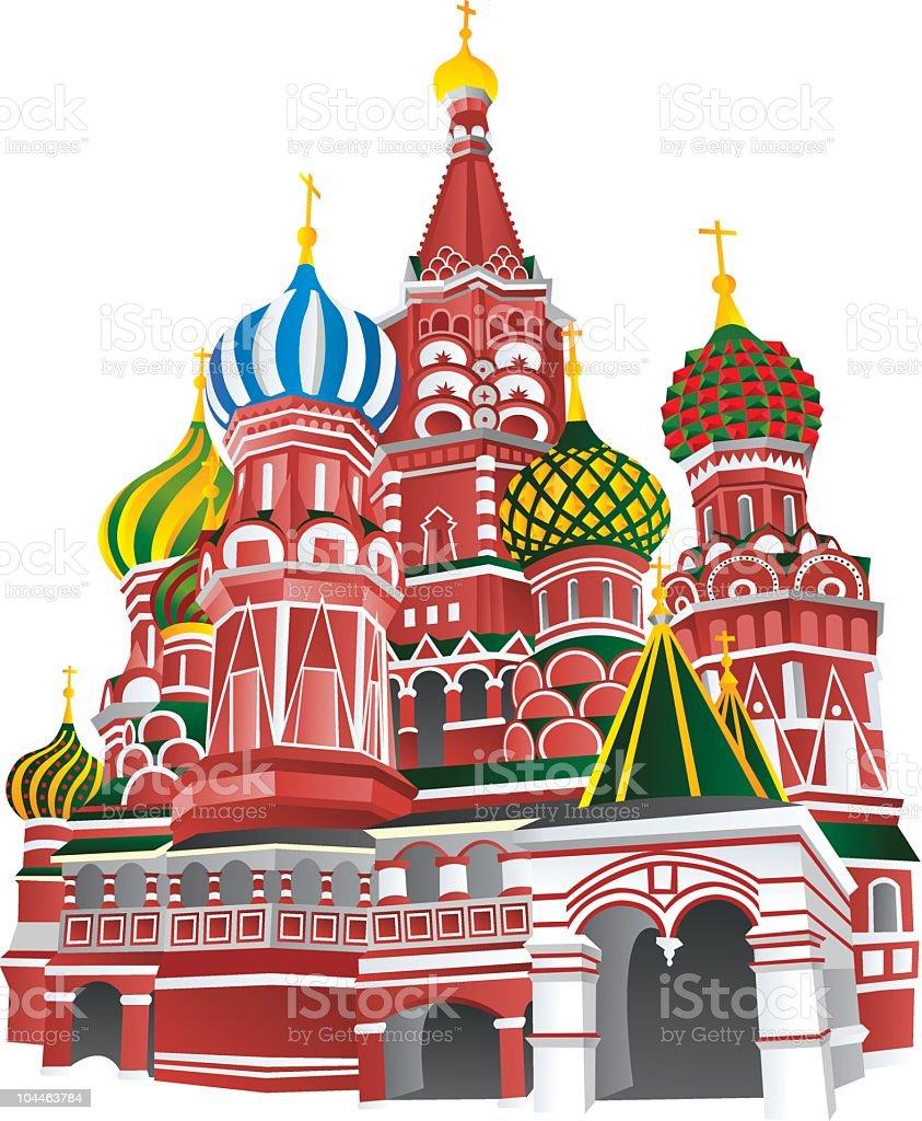 Moskau – Vektorgrafik