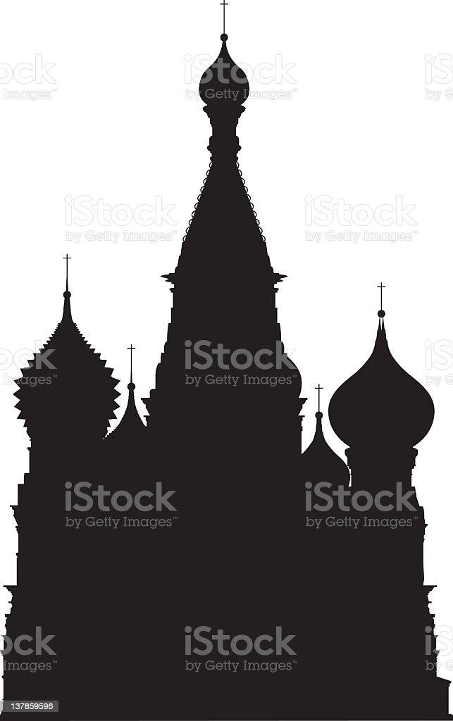Moskau Basilius-Kathedrale – Vektorgrafik
