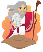 Moses with the Ten Commandments