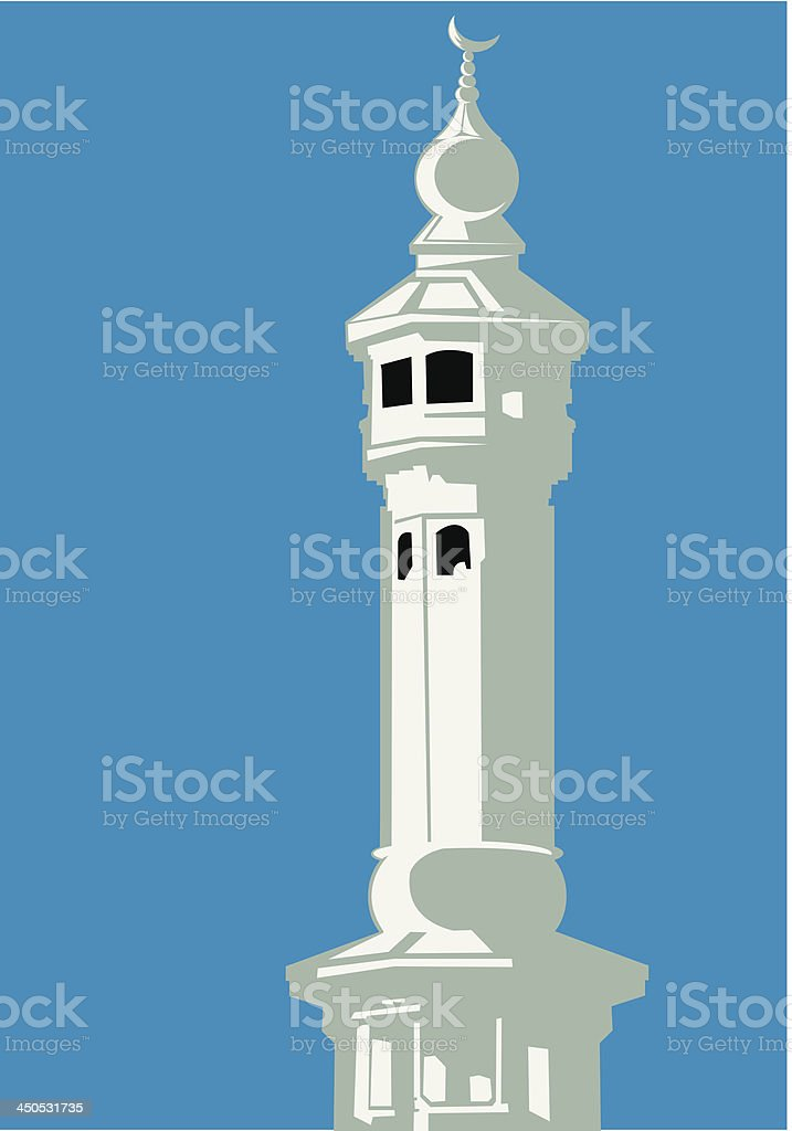 Mosque royalty-free stock vector art