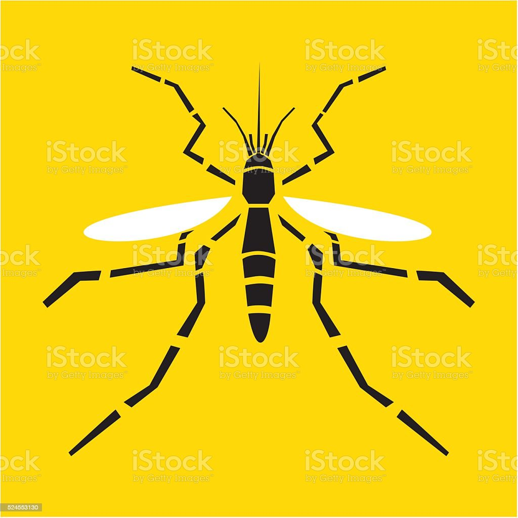 Mosquito vector illustration vector art illustration