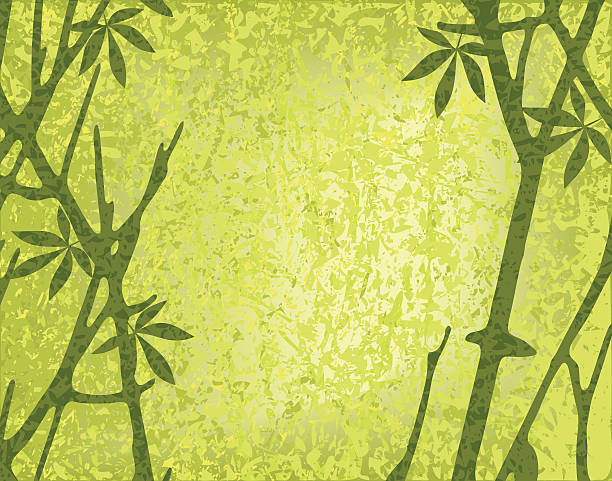 moss forest - moss stock illustrations