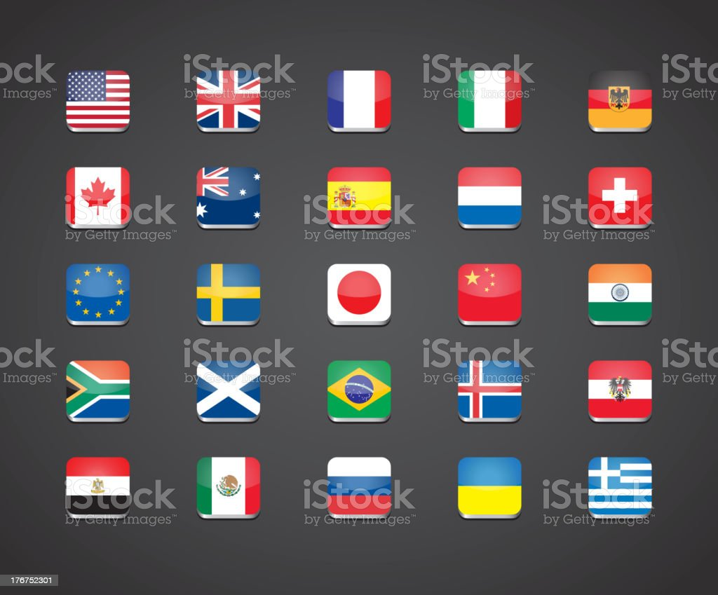 most popular countries flags royalty-free most popular countries flags stock vector art & more images of australia