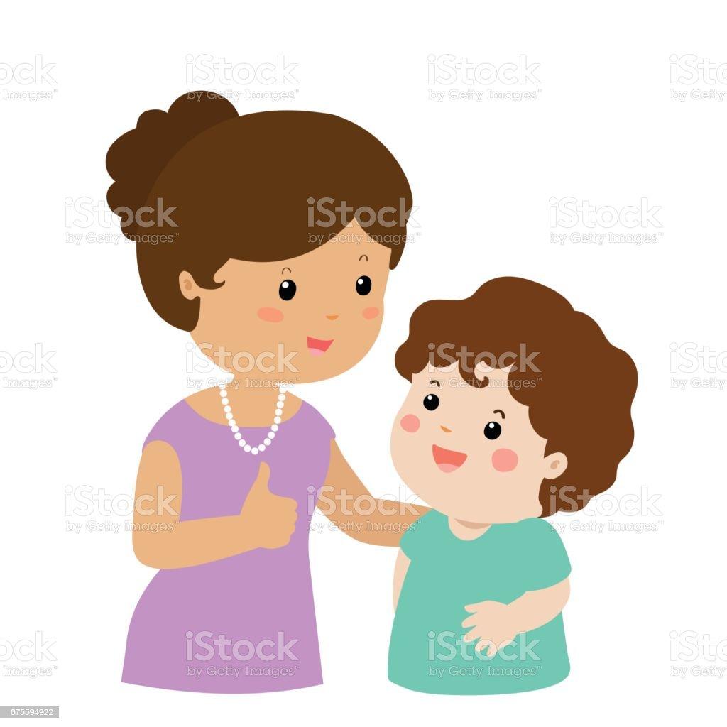 royalty free mom cheering clip art vector images illustrations rh istockphoto com mother clipart images black and white mother clipart pictures