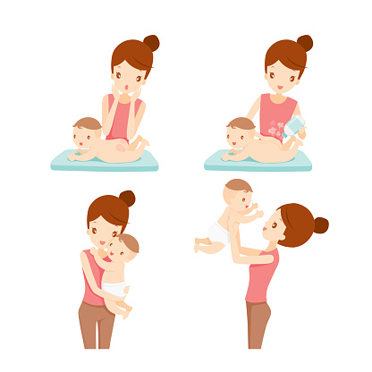 Mother And Baby Set