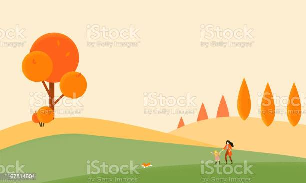 Mother and daughter walking with their corgi within autumn hills vector id1167814604?b=1&k=6&m=1167814604&s=612x612&h=lwb4tlbbbccmdzd365jurkrlwnrj6e6mncu3gm1n4h4=