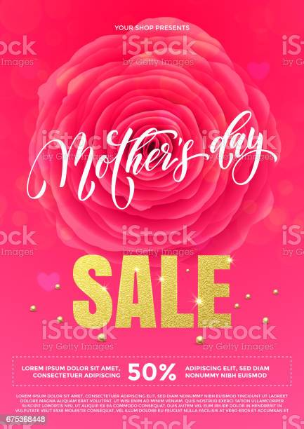 Mother day sale poster or web banner with vector rose flower vector id675368448?b=1&k=6&m=675368448&s=612x612&h=45qfizd2p1ixrb2vpnrga25qsp8vbwpeddxvh0 e3x8=