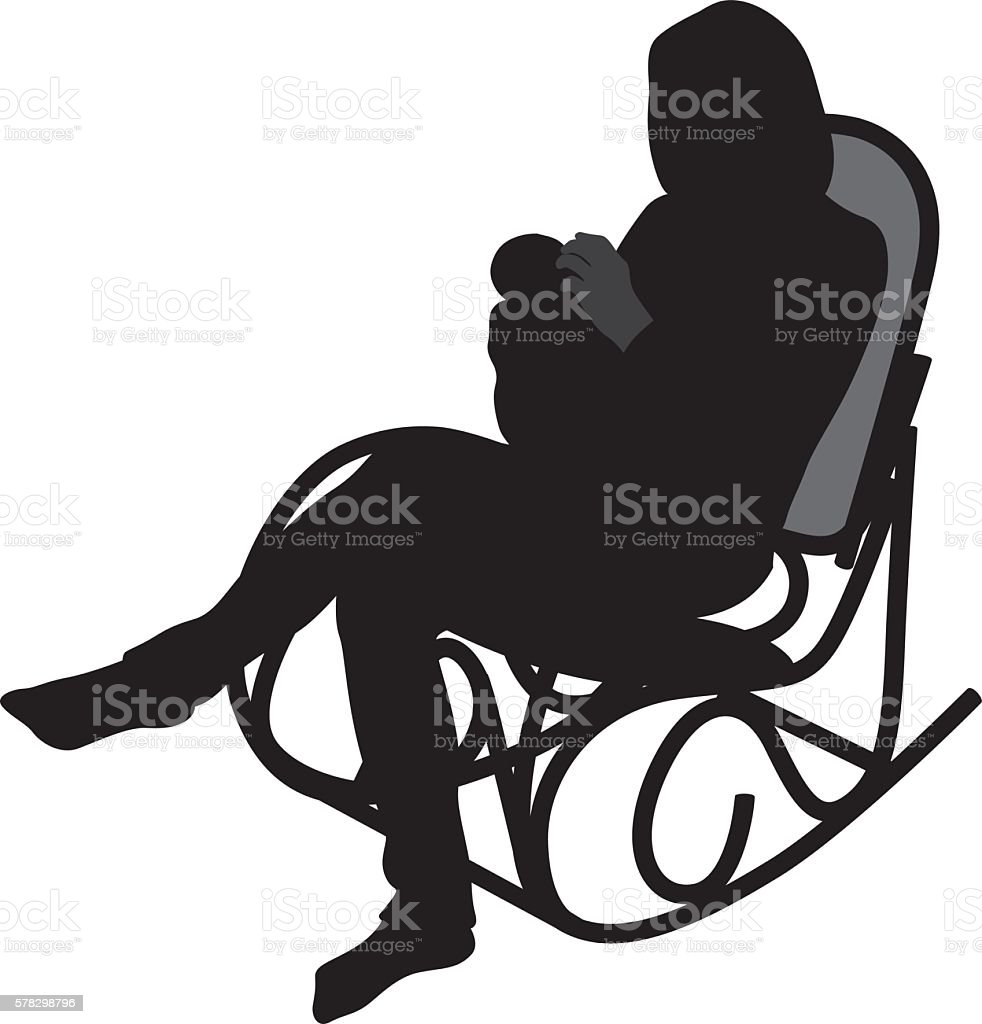 Baby Rocking Chair Clipart Top 60 Rocking Chair C...