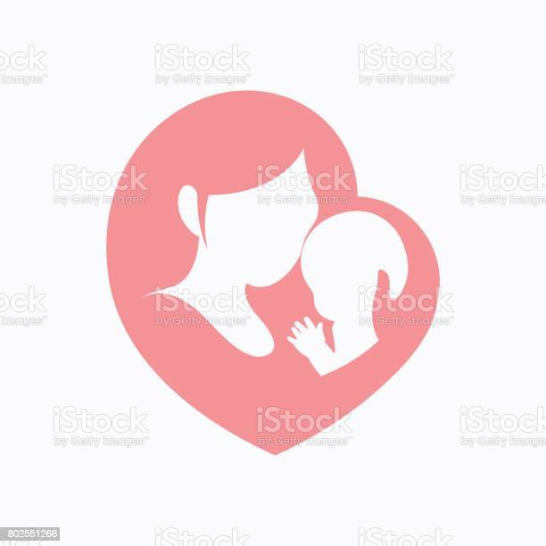 Mother holding her little baby in heart shaped silhouette vector id802551266?b=1&k=6&m=802551266&s=612x612&h=xbzqynp9s6xxgnlxyjkufuamv7e1wfjmtohfexc2f20=