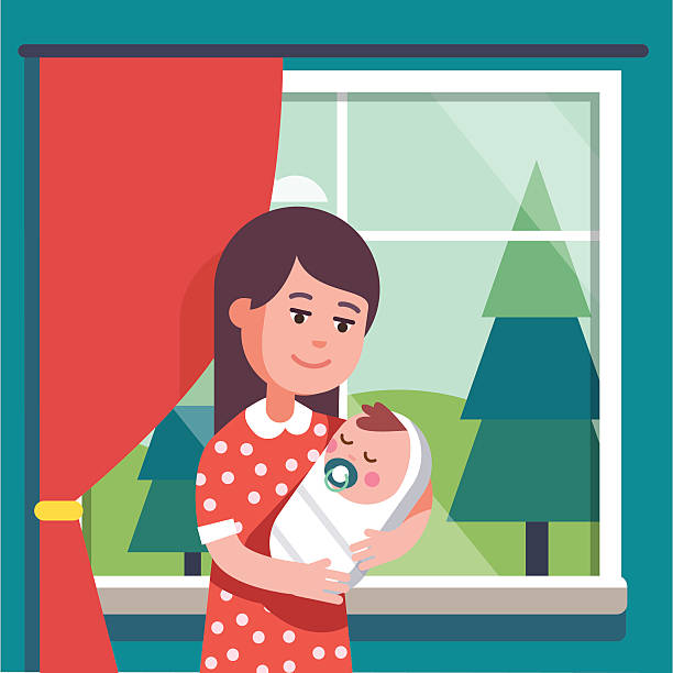 Baby Blanket Illustrations Royalty Free Vector Graphics