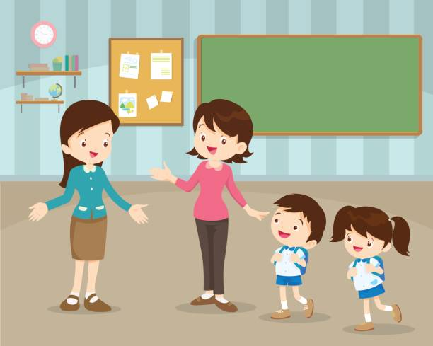 Parent Teacher Conference Illustrations, Royalty-Free ...
