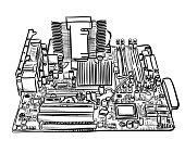 Motherboard Sketch
