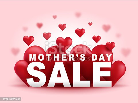 istock Mother's Day Big Sale Banner 1296782623