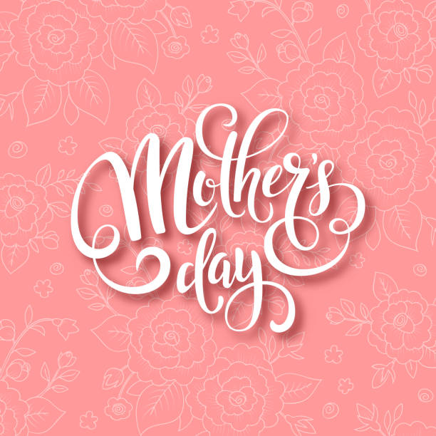 mothers day card - mothers day stock illustrations