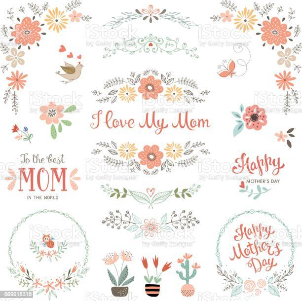 Mothers day floral elements 09 vector id669918318?b=1&k=6&m=669918318&s=612x612&h=uda7nct71bgk qzvp  rezmpmixrauwzmptdc r0wum=