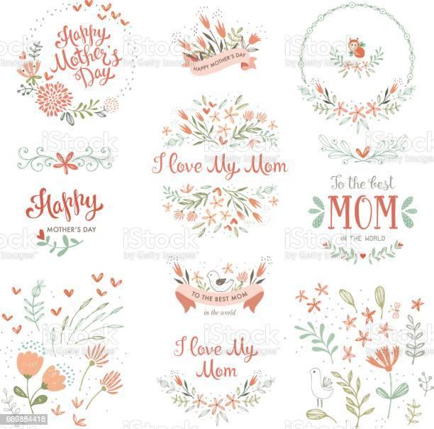 Mothers day floral elements 14 vector id669884418?b=1&k=6&m=669884418&s=612x612&h=1ahwlqaccgatxvg4crj6lrh5h01r heyej315v4zjbw=