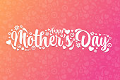 istock Mother's Day. Holiday concept. Template for background, banner, card, poster with text inscription. Vector EPS10 illustration. 1310722411